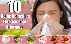 10 Simple Home Remedies to Stop Seasonal Allergy