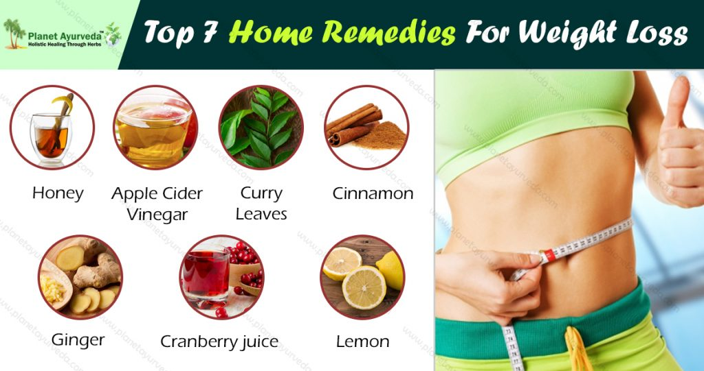 Top 7 Home Remedies For Weight Loss