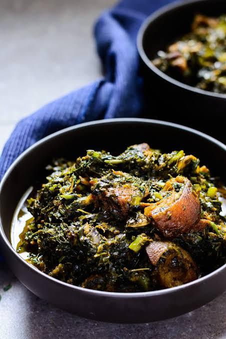 Afang Soup Nigeria