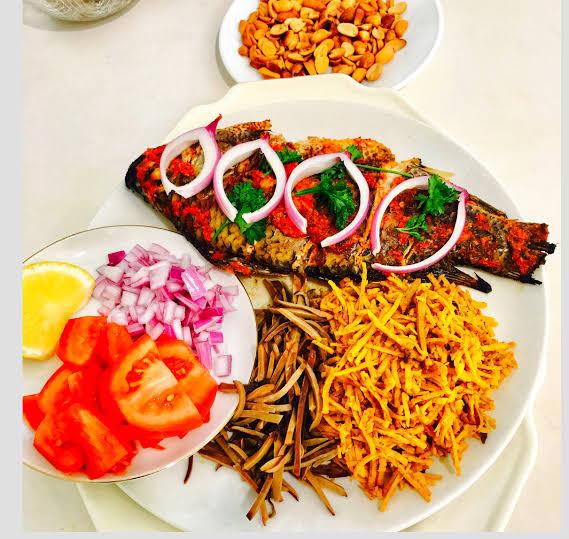 Meet the African Salad, Abacha