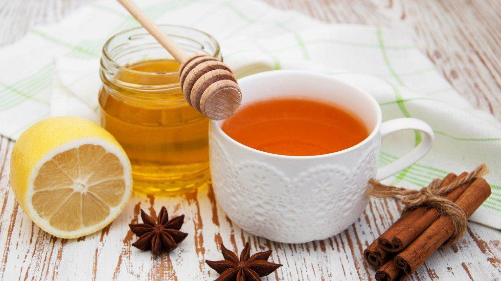 Cinnamon Tea  and Honey