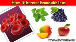 Foods to Increase Hemoglobin Level
