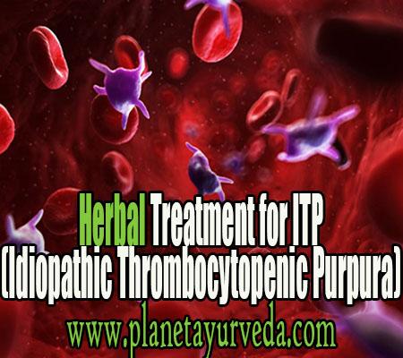 Treatment of Immune Thrombocytopenia purpura