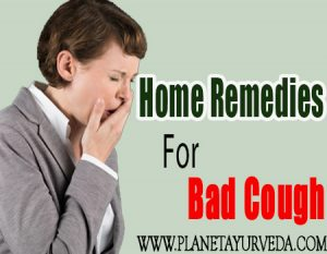 Home Remedies for Bad Cough-Planet Ayurveda
